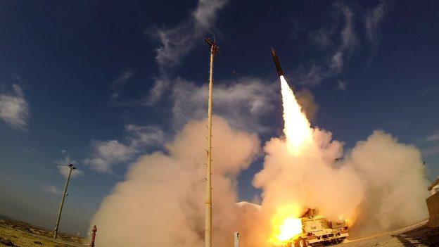 Úspešný test antibalistickej rakety Arrow-3 interceptor