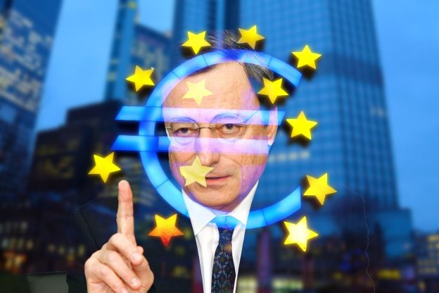 Guvernér ECB Mario Draghi